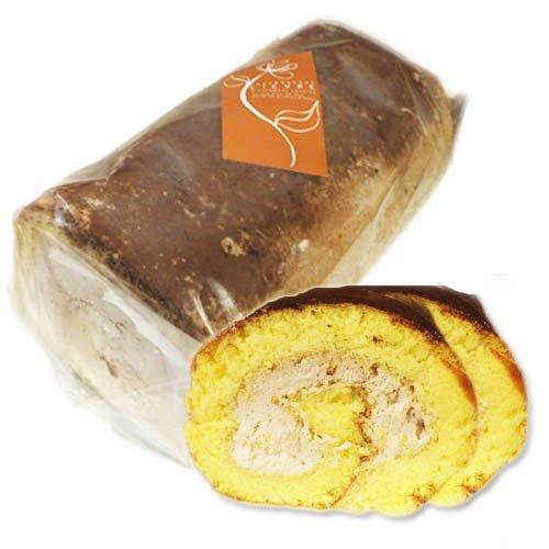 もっちり米粉のロールケーキ「米っ娘ロール」生チョコ味