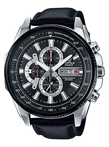[カシオ]CASIO エディフィス クロノ クオーツ メンズ 腕時計 EFR-549L-1A ブラック [逆輸入]