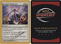 Magic : the Gathering – Akroma & # 39 ; s Vengeance – World Championship Deck Singles