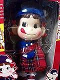 ペコちゃん人形 2010 タータンチェック TARTAN CHECK チェック柄 不二家 ウインターコレクション Peko's Doll Pekos Winter Collection セブンイレブン限定