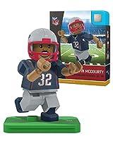NFL新しいEngland Patriots gen4Limited Edition Devin McCourty Mini Figure、スモール、ホワイト
