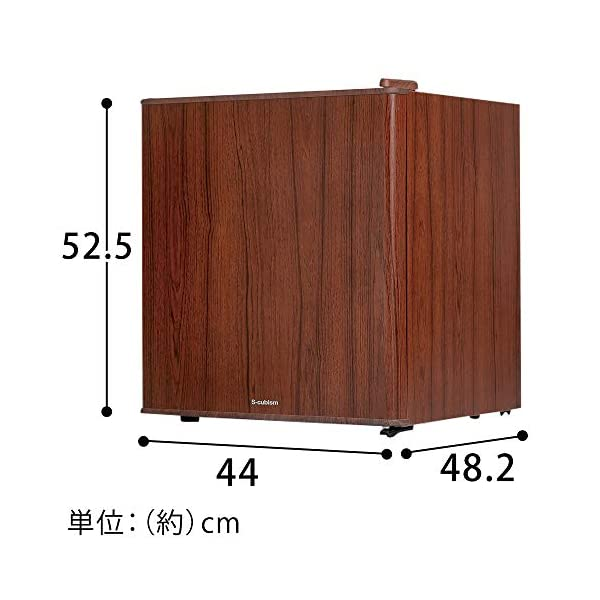 S-cubism 冷蔵庫 49L 1ドア 直令...の紹介画像6