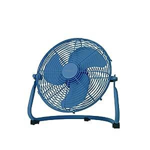 DCモーター メタル サーキュレーター 10インチ [PRISMATE chic] ブルー BLE-5710-BL