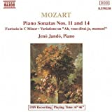 Mozart: Piano Sonatas Nos. 11 & 14 / Fantasia in C Minor / Variations on - Ah, vous dirai-je, maman! by W.A. Mozart (2013-05-03)