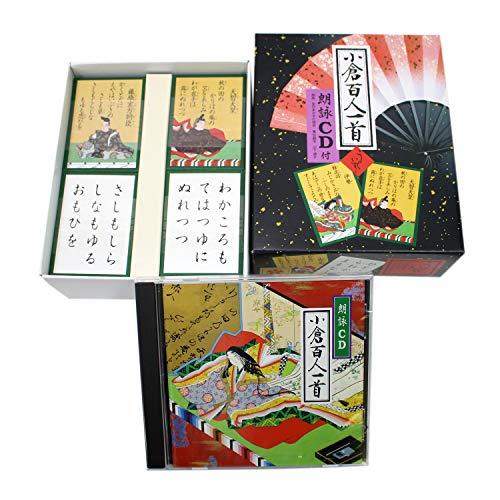 エンゼルプレイングカード 小倉百人一首 うぐいす (朗詠CD付...