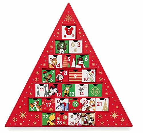 Disney(ディズニー)World of Disney Advent Calendar Gift Drawers ミッキー・マウス&仲間のアドベント カレンダーギフト引き出し [並行輸入品]