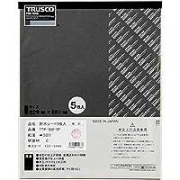 TRUSCO(トラスコ) 耐水ペーパー 228X280#1000 5枚入 TTP10005P