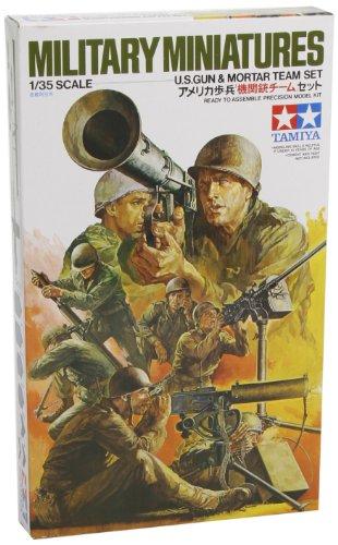1/35 ミリタリーミニチュアシリーズ アメリカ機関銃チームセット