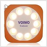 LEDソーラーランタン エクセルーチェ 暖色 200ルーメン 防水仕様 最大35時間点灯