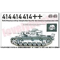 1/16戦車用デカール 3号 J型 トーテンコプフ ハリコフ 1379 TB/デカール