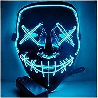 ハロウィンのマスクを照らす パーティーLEDプロップ PVC環境にやさしい
