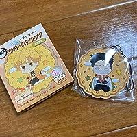 鬼滅の刃 とじコレ Vol.3 ~クッキー~ ラバーストラップ B 悲鳴嶼行冥