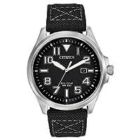 シチズン Citizen Mens メンズ 男性用 AW1410-08E Sport Analog Display Japanese Quartz Black Watch 腕時計 [並行輸入品]