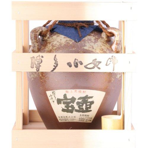 光酒造 博多小女郎 宝壺 麦 40度 1800ml陶器