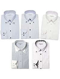 [ドレスコード101] ワイシャツ 5枚セット ドレスシャツ SHIRT-SET-30