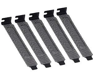 PCIメッシュスロットカバーセット (5枚+ネジ5本)