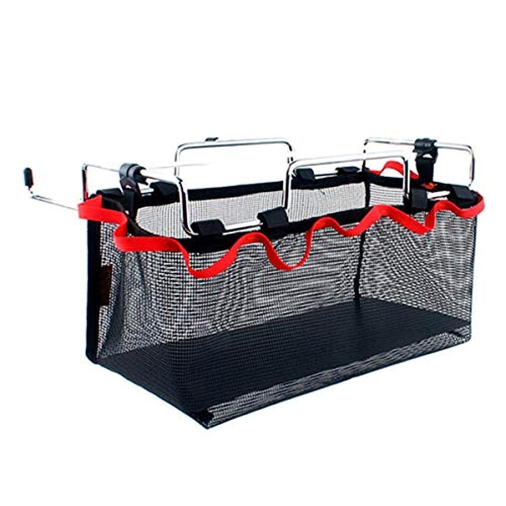 玉重力特異性JVSISM 収納用ネットのバッグ、収納用メッシュのバッグ、ピクニック、アウトドア、キャンプ、キッチン用、折りたたみ式テーブルのハンギング網