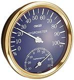クレセル 温湿度計 ブルー CR?101B