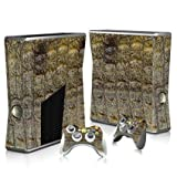 Linyuan 安定した品質 T0341* Skin Decal Wrap Sticker for Microsof XBOX360 SLIM Console+2 Controllers