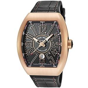 [フランクミュラー]FRANCK MULLER 腕時計 ヴァンガード ブラック文字盤 V45SCDT BLK BLK 5N メンズ 【並行輸入品】