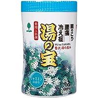 紀陽除虫菊 入浴剤 湯の宝 ジャスミンの香り 700g [医薬部外品]