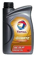 Total クオーツ9000 エナジー5W-40 1 QT 185703-1QT