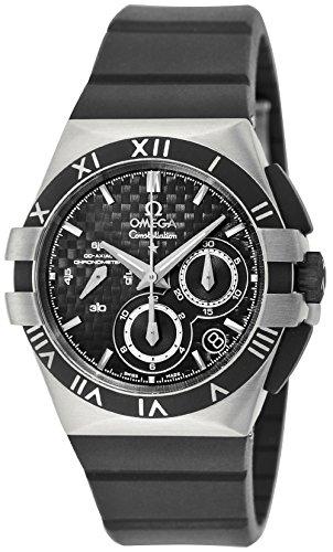 [オメガ]OMEGA 腕時計 コンステレーションダブルイーグル ブラック文字盤 自動巻 クロノグラフ 121.92.35.50.01.001  【並行輸入品】