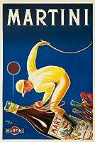 Martiniヴィンテージポスター(アーティスト: Droit )フランスC。1934 12 x 18 Signed Art Print LANT-61919-708