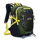 (ミスフォクス)MissFox リュックバッグ 男女兼用 登山バッグ 40L アウトドアパッケージ アーミーグリーン