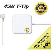 HCMA【PSE認証】アップル Macbook用 互換 電源アダプタ 充電器 45W T型 高品質 【1年保証】