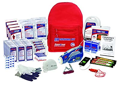ER Emergency Read Ultimate Deluxe Backpack Survival Kit