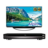 【4K放送対応セット】シャープ 4K対応液晶テレビ AQUOS 4T-C43AM1 + シャープ AQUOS ブルーレイレコーダー 2TB 3チューナー 4Kチューナー内蔵 Ultla HDブルーレイ対応 4B-C20AT3
