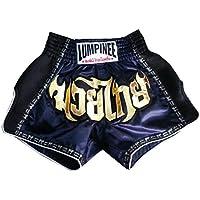 Lumpinee ルンピニ Retro ボクシング ムエタイパンツ : LUMRTO-003-Navy