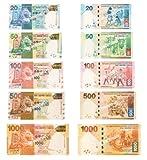 香港 現行流通紙幣 100ドル札 5枚