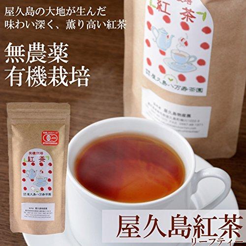 【無農薬・有機JAS認定】 屋久島紅茶(リーフティー) 【全国有機農業推進委員会 会長賞 受賞】