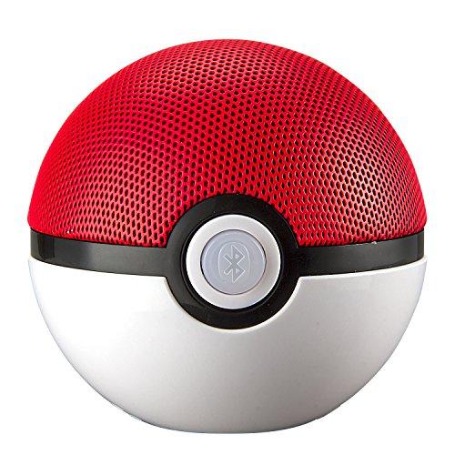 モンスターボール Bluetooth ワイヤレススピーカー マイク搭載 ハンズフリー ポケモンGO ...