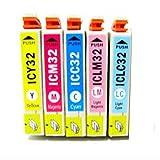 Amazon.co.jpEPSON(エプソン)IC6CL32シリーズ インクカートリッジ ICBK32 ICC32 ICM32 ICY32 ICLC32 ICLM32 お得な互換インク