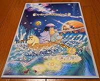 レアムーミン誕生60周年記念ムーミン谷の仲間たち記念切手その2額面計800円紙製ホルダー入り2005年ムーミンバレーリトルミイ