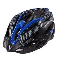 uzinby バイクヘルメット、自転車ヘルメット 超軽量 高剛性 調整可能 快適 男女兼用 サイクリング/山地/道路に最適のヘルメット