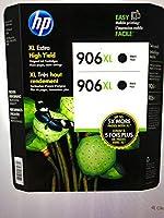 ヒューレットパッカードT0A42BN Hp 906Xlブラックカートリッジクラブ2パックインク