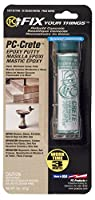Protective Coating 25581 PC-Crete Hand Moldable Concrete Epoxy Putty with 2-Ounce Tube by Protective Coating