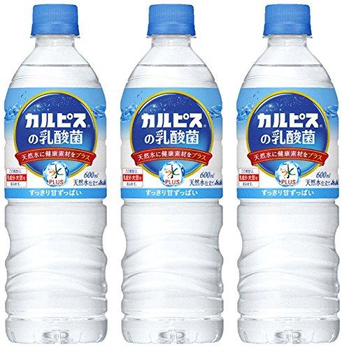 おいしい水カルピスの乳酸菌 ペット600ml