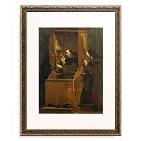 Crespi, Giuseppe (Lo Spagnuolo),1665-1747 「The Confession.」 額装アート作品