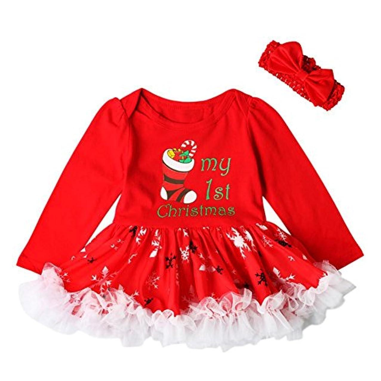 の面では首財団Ochine 赤ちゃん服 子供服  女の子 ドレス ヘアバンド付き 4サイズ 出産祝い/プレゼント コスチューム チュチュワンピース パーティー 発表会 入園式に