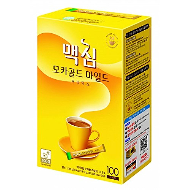 [東西食品] Maxim モカゴールド マイルド コーヒーミックス(12g*100T) [海外直送品][並行輸入品]