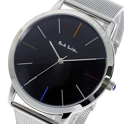 ポールスミス PAUL SMITH エムエー MA クオーツ メンズ 腕時計 P10055 ブラック 腕時計 海外インポ...