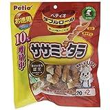 ペティオ (Petio) 犬用おやつ ダブルロール ササミとタラ 20本