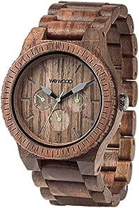 [ウィウッド] 腕時計 9818030 正規輸入品 ブラウン