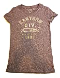 AeropostaleレディースTシャツ藤色with Eastern Div。Aero刺繍とインプリント黄色でサイズSmall - Best Reviews Guide
