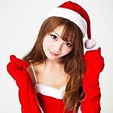 クリスマス サンタ コスチューム コスプレ 衣装 レディース セクシー サンタ帽子&もこもこ グローブ 2点 セット